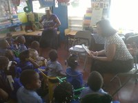 Reading Day at the Curlin Johnson Basic School