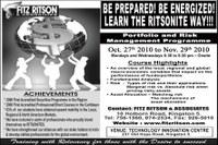 Register now for Portfolio and Risk Management