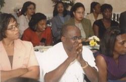 Calvin R Campbell listening