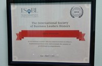 The ISOBL Certification